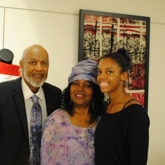 James Lacy , Madona Cole-Lacy and daughter Summer Lacy